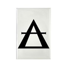 "Alchemical Symbol for ""AIR"" Rectangle Magnet"
