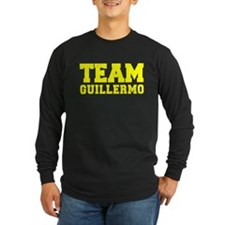 TEAM GUILLERMO Long Sleeve T-Shirt