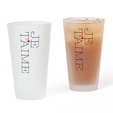 Je Taime Drinking Glass