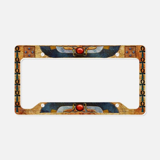 Harvest Moons Winged Cobras License Plate Holder