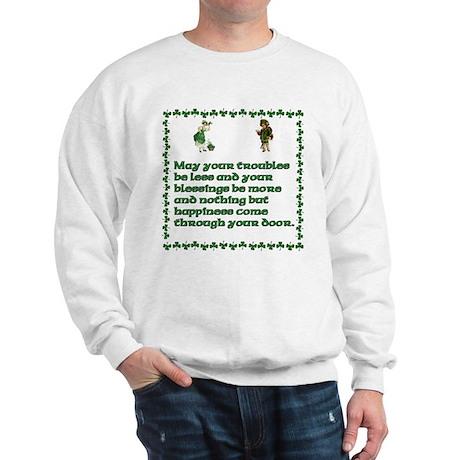 Irish Celtic blessings, sayin Sweatshirt