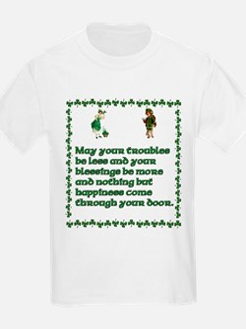 Irish Celtic blessings, sayin T-Shirt