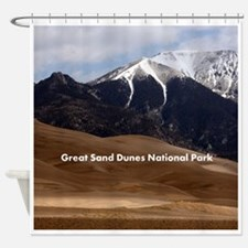 Customizable Colorado Sand Dunes So Shower Curtain