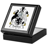 Pritchard family crest Keepsake Boxes