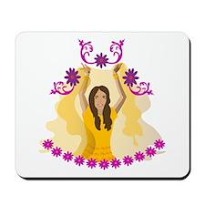 Bollywood Lady Mousepad