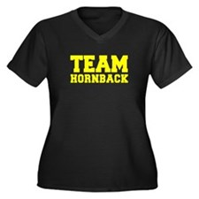 TEAM HORNBACK Plus Size T-Shirt
