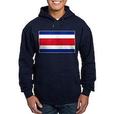 Costa Rica Flag Hoodie