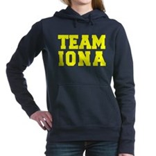 TEAM IONA Women's Hooded Sweatshirt