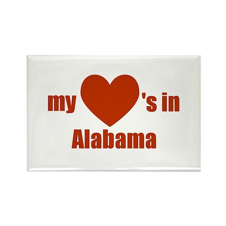 Alabama Rectangle Magnet (100 pack)