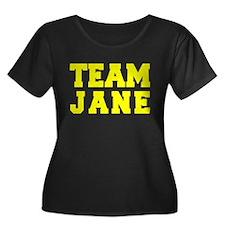 TEAM JANE Plus Size T-Shirt