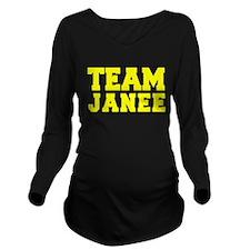 TEAM JANEE Long Sleeve Maternity T-Shirt