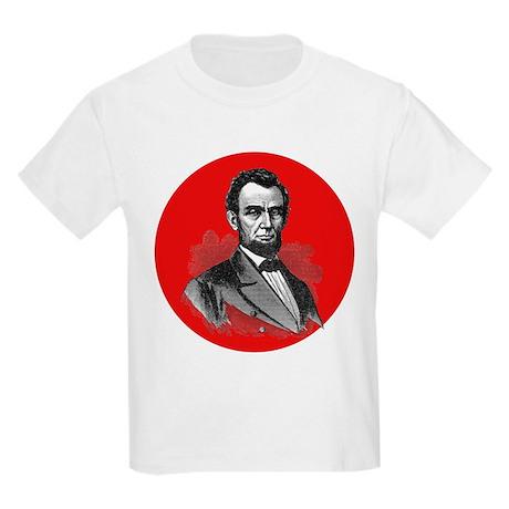 Abraham Lincoln Kids Light T-Shirt