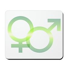 Male/Female Symbols Mousepad