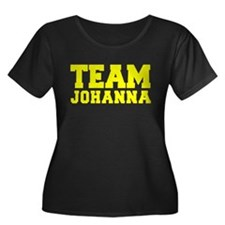 TEAM JOHANNA Plus Size T-Shirt
