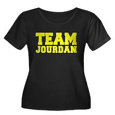 TEAM JOURDAN Plus Size T-Shirt