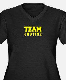 TEAM JUSTINE Plus Size T-Shirt