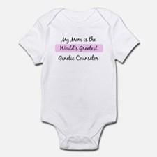 Worlds Greatest Genetic Couns Infant Bodysuit
