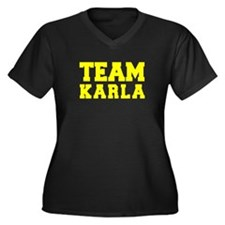 TEAM KARLA Plus Size T-Shirt