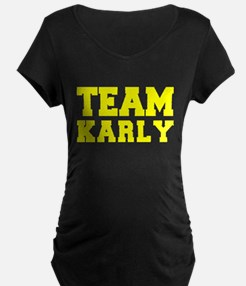TEAM KARLY Maternity T-Shirt