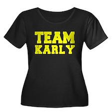 TEAM KARLY Plus Size T-Shirt