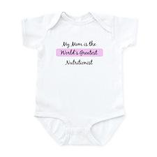 Worlds Greatest Nutritionist Infant Bodysuit