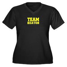 TEAM KEATON Plus Size T-Shirt