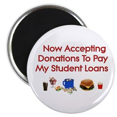 Student Loan Donations Magnet