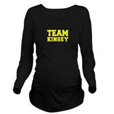 TEAM KINSEY Long Sleeve Maternity T-Shirt