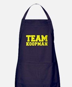 TEAM KOOPMAN Apron (dark)