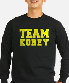 TEAM KOREY Long Sleeve T-Shirt