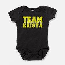 TEAM KRISTA Baby Bodysuit