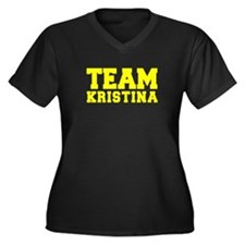 TEAM KRISTINA Plus Size T-Shirt