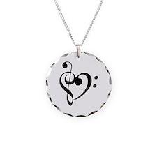 Treble Heart Necklace
