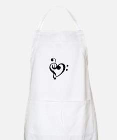 Treble Heart Apron