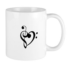 Treble Heart Mugs