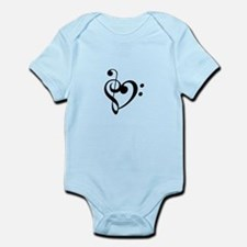 Treble Heart Body Suit