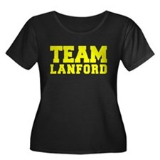 TEAM LANFORD Plus Size T-Shirt