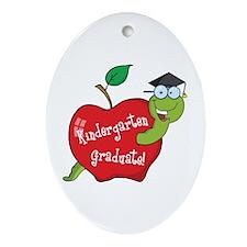Kindergarten Graduate Ornament (Oval)