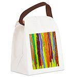Paint Colors Canvas Lunch Bag