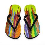 Paint Colors Flip Flops