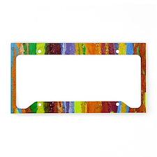 Paint Colors License Plate Holder