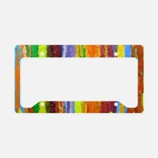 Paint Colors License Plate Holder