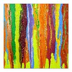 Paint Colors Square Car Magnet 3