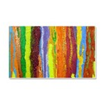 Paint Colors Car Magnet 20 x 12