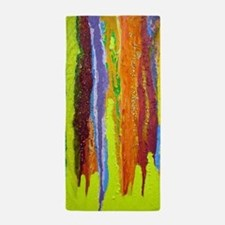 Paint Colors Beach Towel