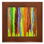 Paint Colors Framed Tile