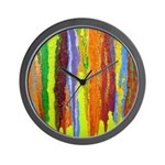 Paint Colors Wall Clock