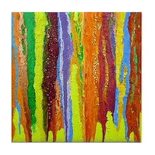 Paint Colors Tile Coaster