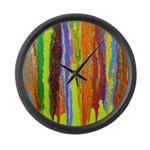 Paint Colors Large Wall Clock