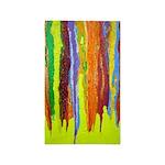 Paint Colors 3'x5' Area Rug